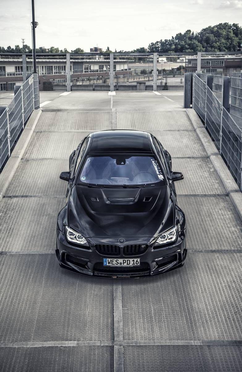 Stunning Pearl Black Bmw M6 Gran Coupe By Prior Design Bmw M6