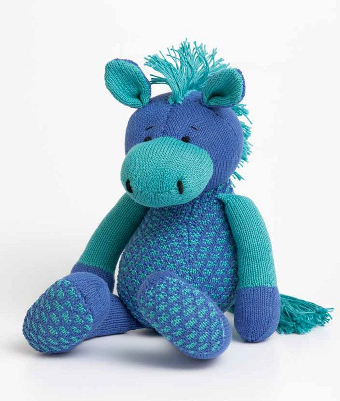 Horse Toy in Patons 100% Cotton 4 Ply: http://www.mcadirect.com/shop ...