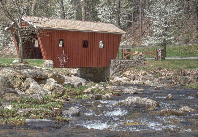 Kent Falls Covered Bridge Covered Bridges Vacation Places Places