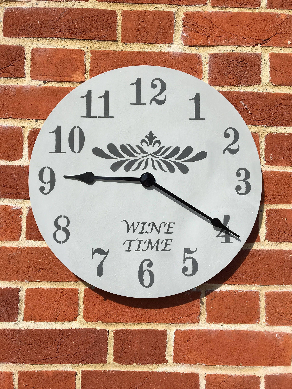 Large Wooden Make Your Own Clock Kit Etsy Wall Clock Kits Diy Clock Wall Custom Clocks