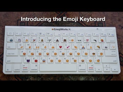 Introducing The Emoji Keyboard By Emojiworks Emoji Keyboard Emoji Keyboard