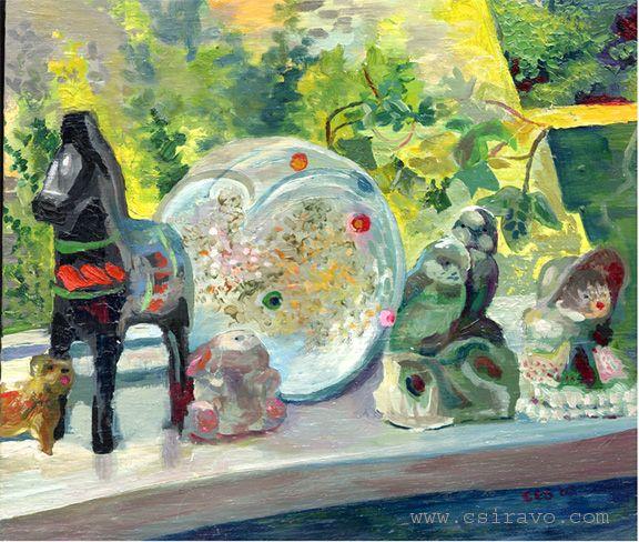 Still life- Oils 2002 by BlueBirdie.deviantart.com on @deviantART