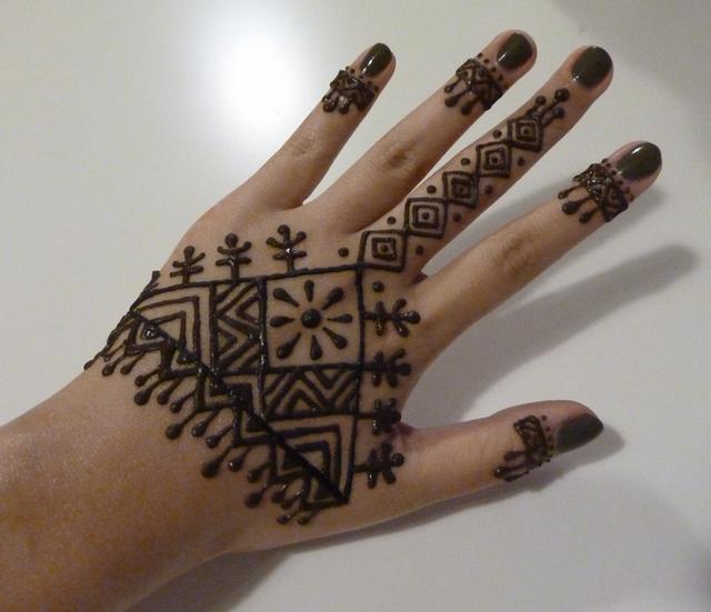 dise os de tatuajes de henna para manos dise os de