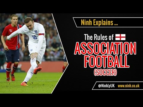 The Rules Of Football Soccer Or Association Football Explained Youtube In 2020 Association Football Football Soccer Football