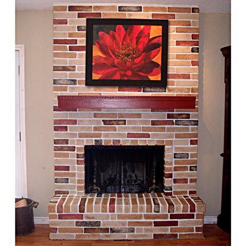Painting A Brick Fireplace Ideas | Fireplace Painting Ideas A Fireplace Is  A Beautiful Addition To