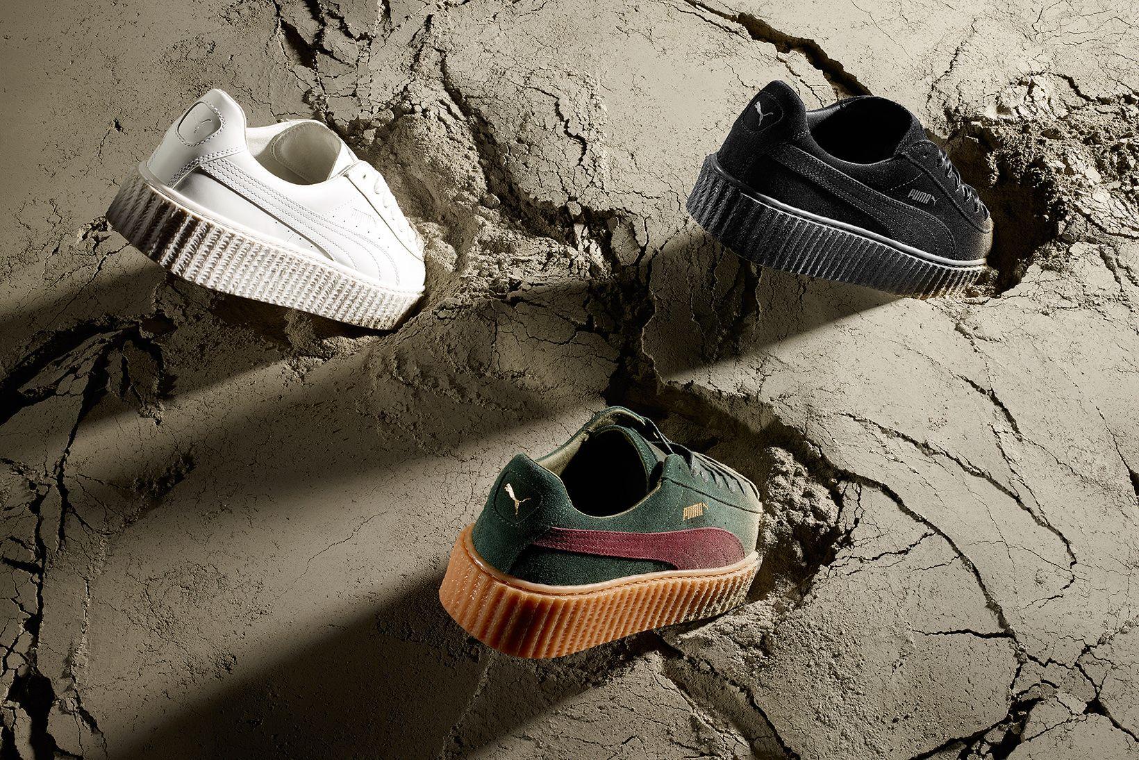 puma creepers par rihanna puma and puma clothing shoes and etc puma suede sneakers et. Black Bedroom Furniture Sets. Home Design Ideas