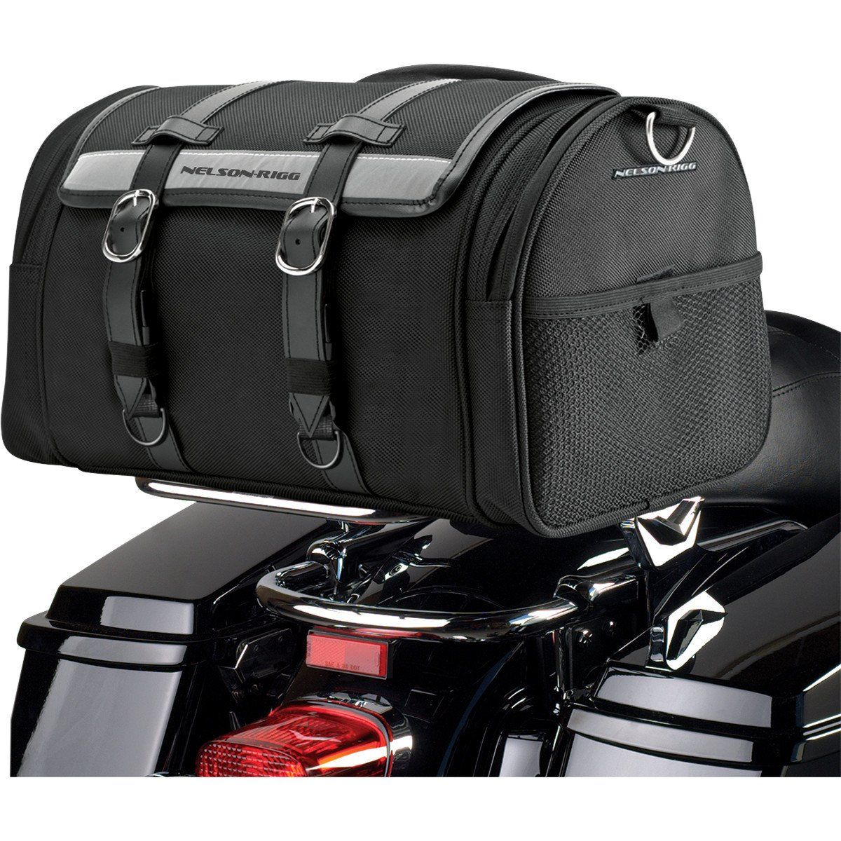 Motorcycle Luggage Rack Bag Magnificent Riggpak Ctb 1020 Deluxe Barrel Bag  Barrel Bag And Products Design Ideas