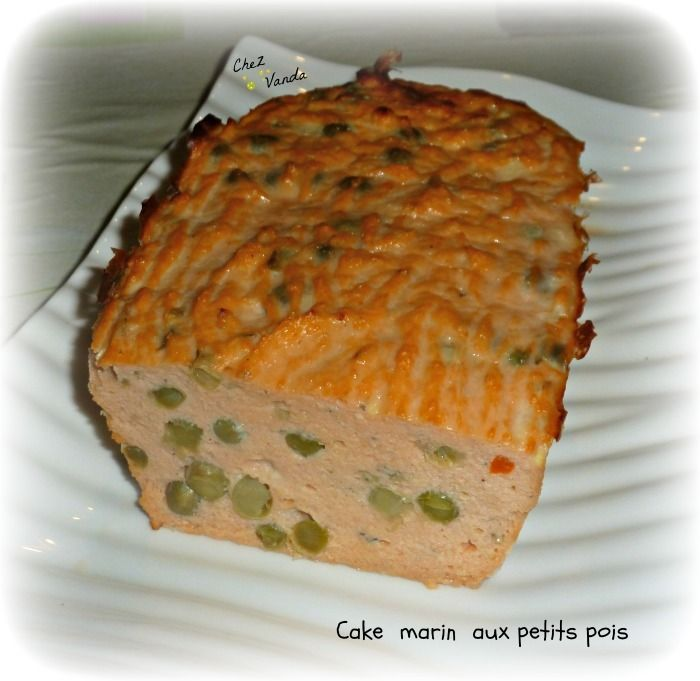 Cake marin aux petits pois