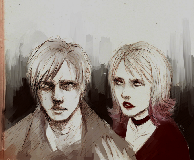 Silent Hill 2 James And Maria Silent Hill Silent Hill 2 Silent Hill Series