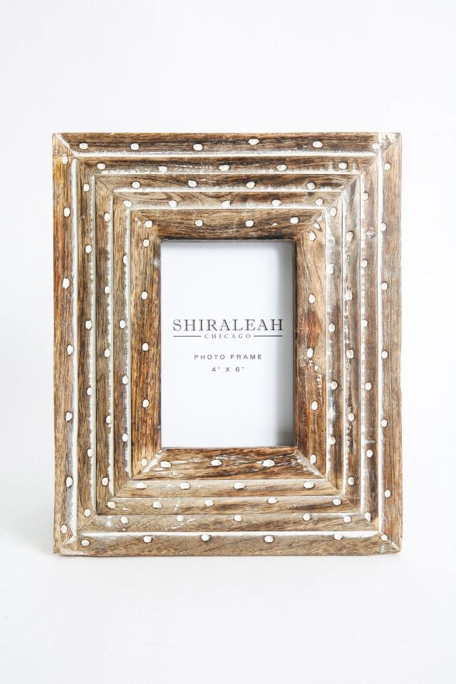Shiraleah Horvik 4x6 Picture Frame | 4x6 picture frames, Living ...
