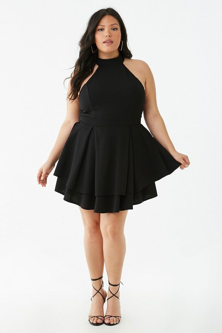 Plus Size Halter Mini Dress | Forever 21 | Cute clothes ...