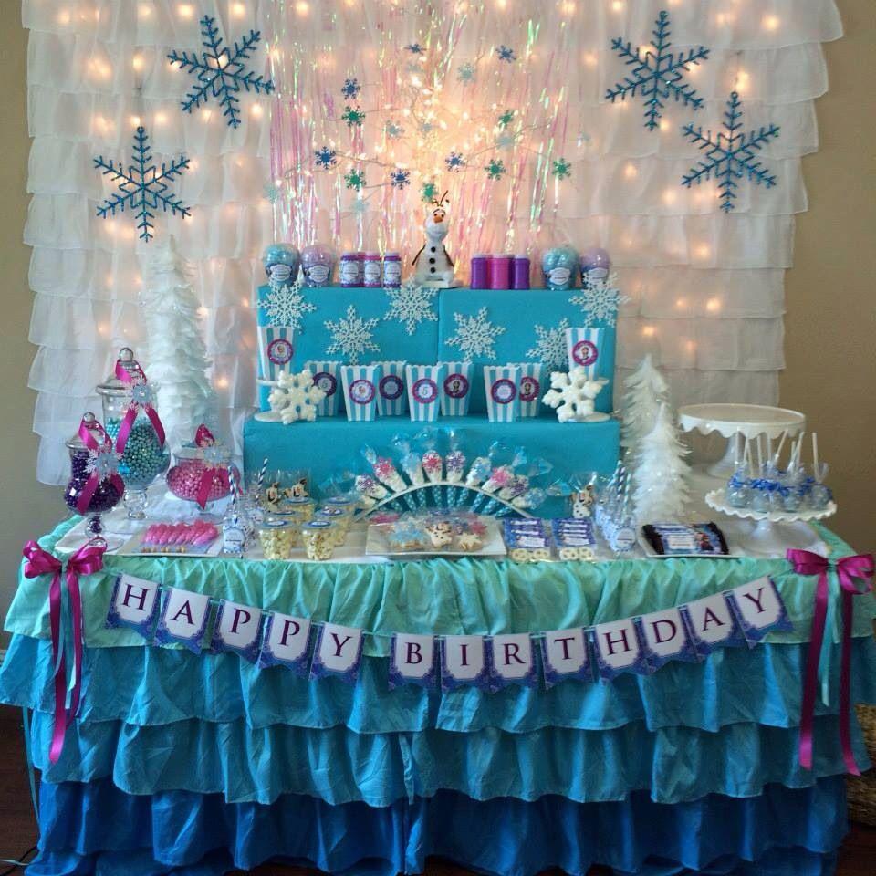 Frozen Decoration Hints Of Warm Colour Frozen Party Decorations 21st Birthday Decorations Frozen Decorations