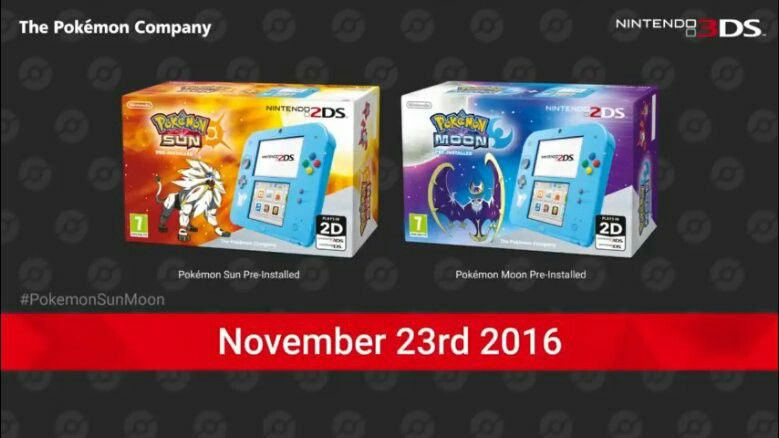 2ds bundle for sun and moon release pokémon sun and moon