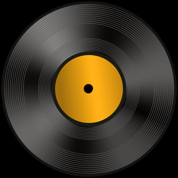Vinyl Record PNG Clip Art Image