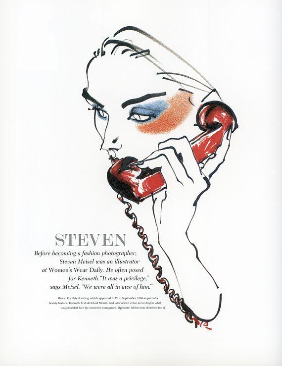 Kenneth Paul Block Steven Meisel Steven Meisel Fashion