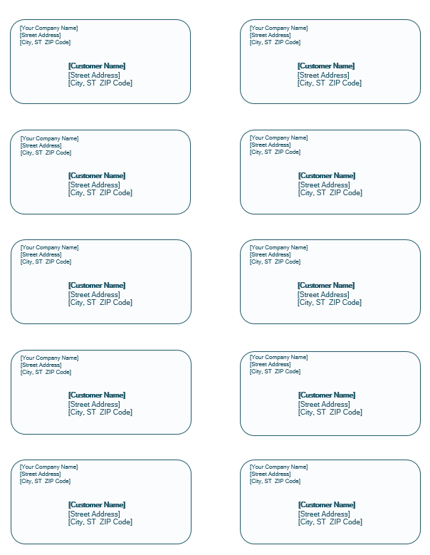 Shipping Label 30 Templates Free Download Template Sumo