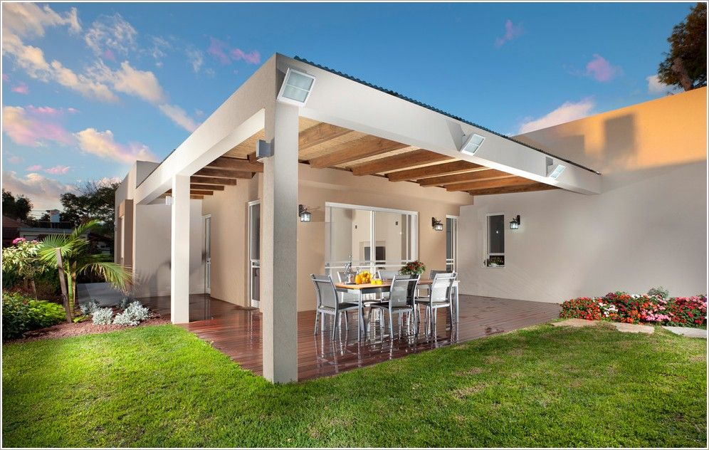 Exceptional People Also Searched By : Outdoor Flat Roof Cabana If You Want Your Room To  Feel Warmer Like Image Deck Modern Cabana Covered Patio Deck Exposed Beams  Flat ...