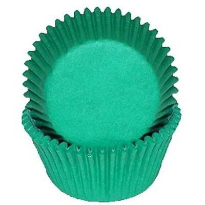 Oasis Supply 50 Count Baking Cups, Standard, Green. Shipping is Free