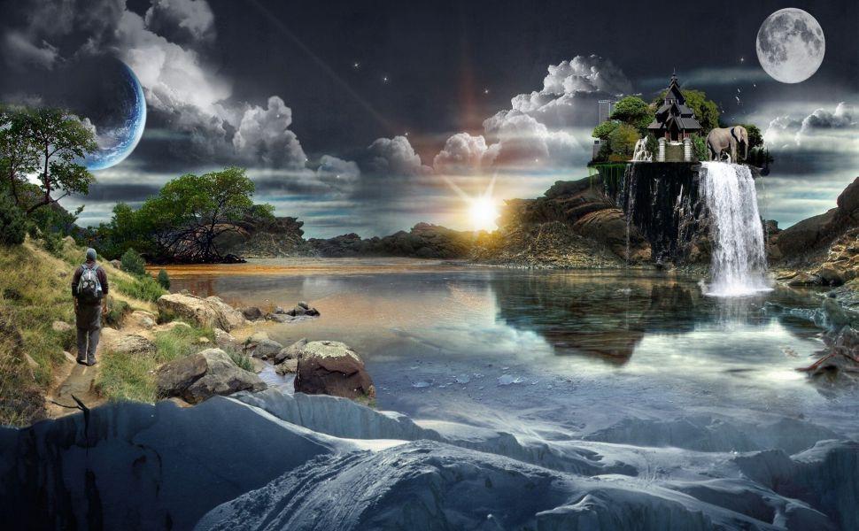 Dream World HD Wallpaper