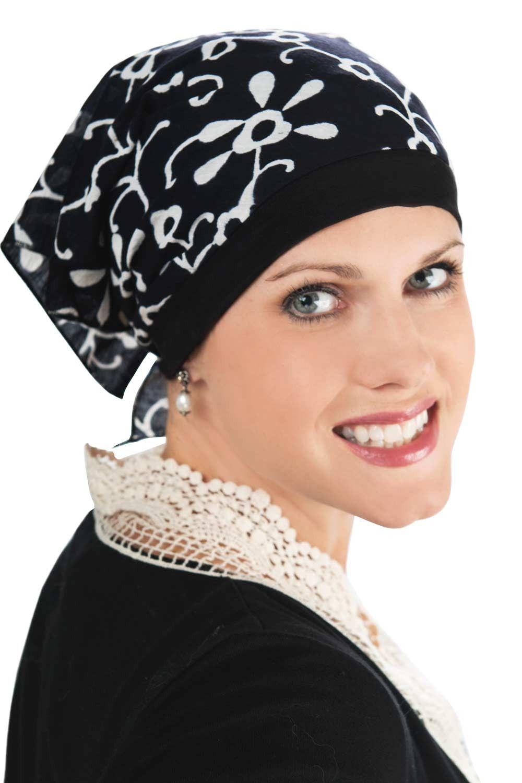 27029439a4b Pre-Tied Bandana Cap Headcovering. Pre-Tied Bandana Cap Headcovering Scarves  For Cancer Patients