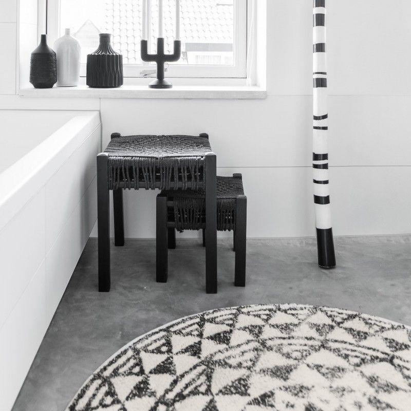 tapis rond madala tapis de bain hk