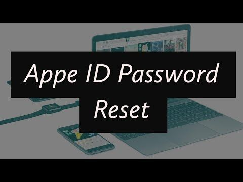 Apple ID or Password Change/Reset (If YouTube