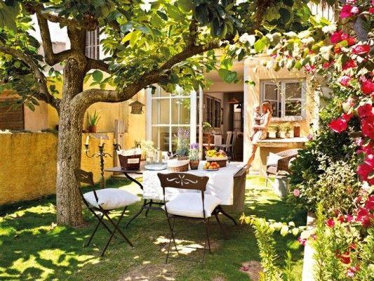 modelos de jardines rusticos Diseño de interiores Jardín Pinterest