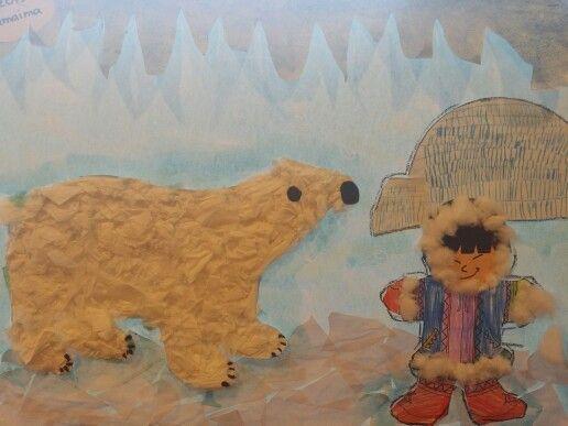 Noordpool,  winter, kleuters #winterkleuters Noordpool,  winter, kleuters #winterkleuters