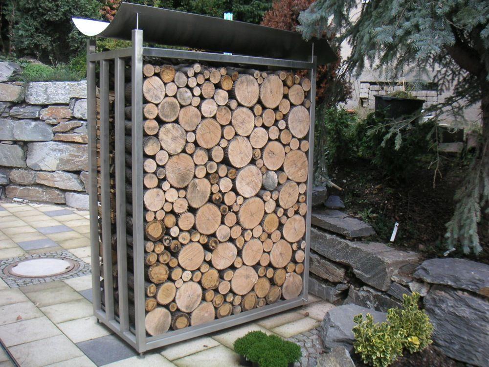 Holzlager Metallbau Holzlager Brennholz