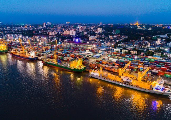 10 Myanmar Ports & Terminals ideas | yangon, port, myanmar
