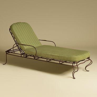 Twig Iron Garden Chaise Lounge Rose Tarlow Rose Tarlow Melrose