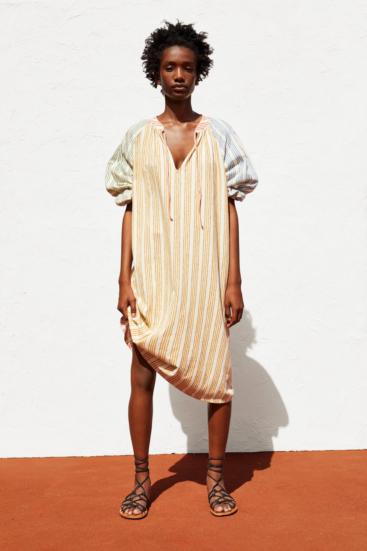 5e8f9ed1028 STRIPED RUSTIC DRESS - View all-DRESSES-WOMAN