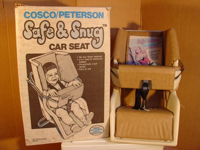 Cosco Safe Snug New With Box And Tags 1982 Vintage