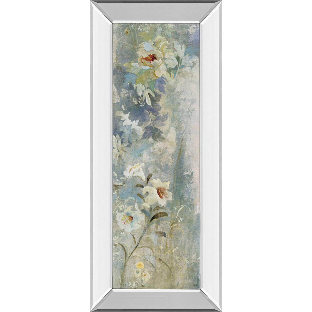 Adorn your walls with this amazing wall decoration that will surely stand-out in any living space. This gorgeous decoration is elegantly framed for your living room or family room. Each piece is meticulously crafted for long-lasting durability and beauty. Features: Artistic piece and wall decorationGarden Haiku Il framed wall art by Douglas Made in the USA Scratch resistant MDF Ready to hang with all the hardware pre-attachedRecommended for indoor use Dimensions: 42