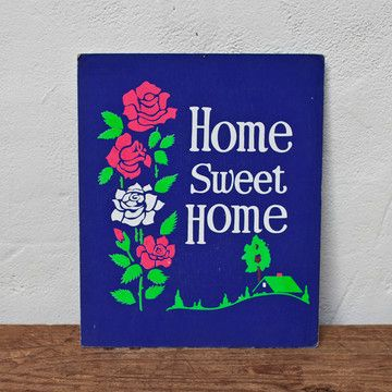 """""""home sweet home"""" sign 24 now featured on fab  art"""