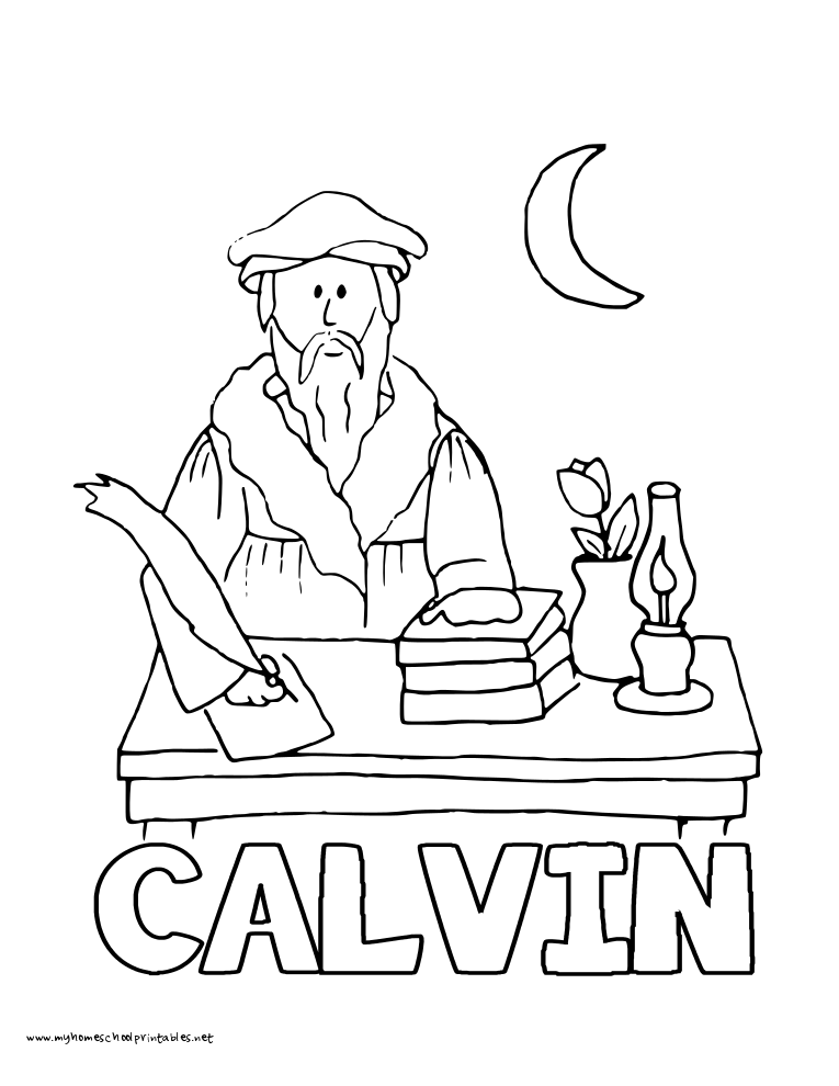 john calvin and martin luther Watch on our website:   john calvin (1509-1564) was a prominent french theologian during.