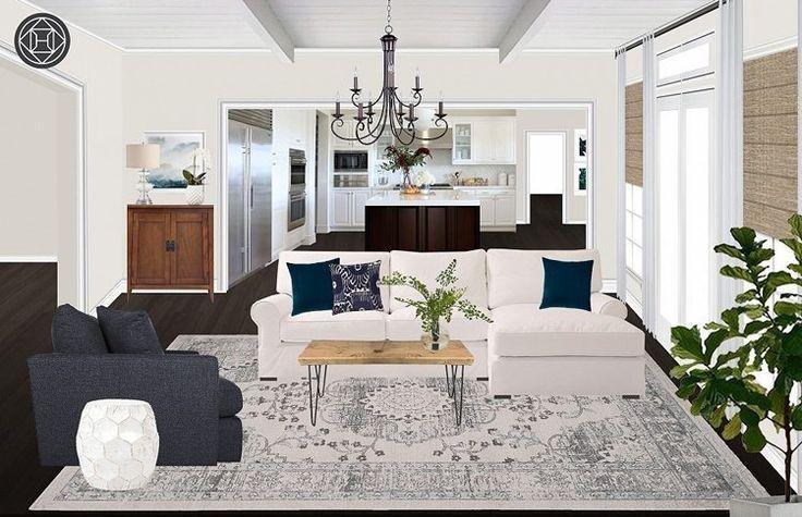 Rustic Boho Living Room, Design c/o Havenly - #design #havenly #living #rustic - #Genel #havenlylivingroom Rustic Boho Living Room, Design c/o Havenly - #design #havenly #living #rustic - #Genel #havenlylivingroom