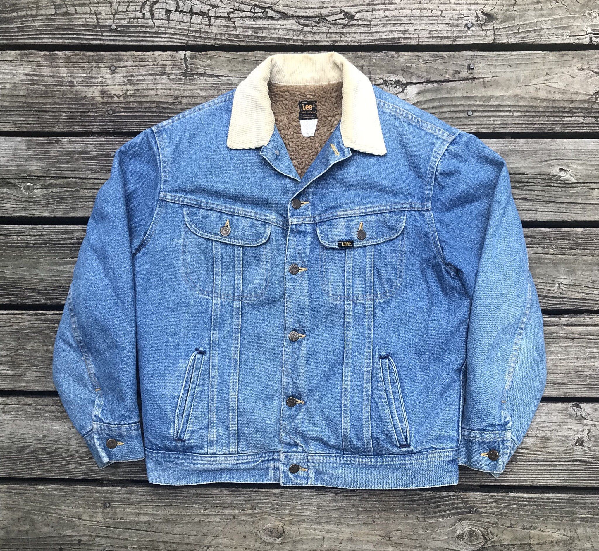 Shop Now Rebelfrayvintage On Etsy Lee Vintage 80s Trucker Cowboy Sherpa Lined Denim Jean Jacket Men S M Https Jean Jacket Men Denim Jean Jacket Denim Jacket [ 1881 x 2048 Pixel ]