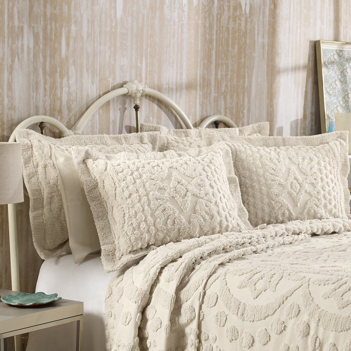 Free 2 Day Shipping Buy Kingston Tufted Chenille Bedspread And
