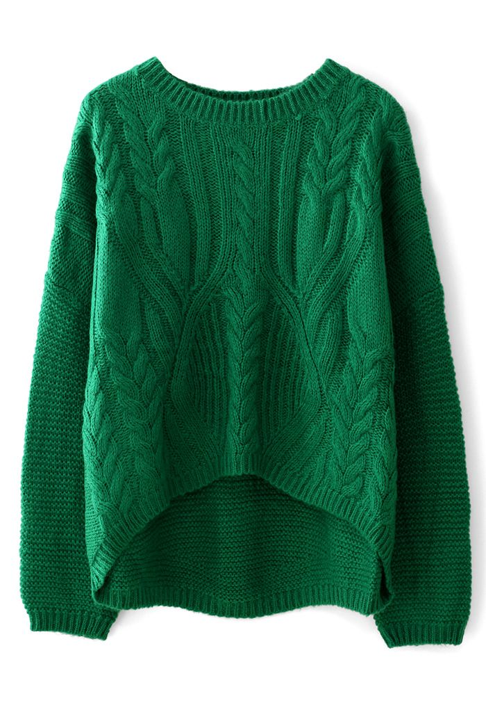 078f82f2c Cable Knit Pullover Sweater