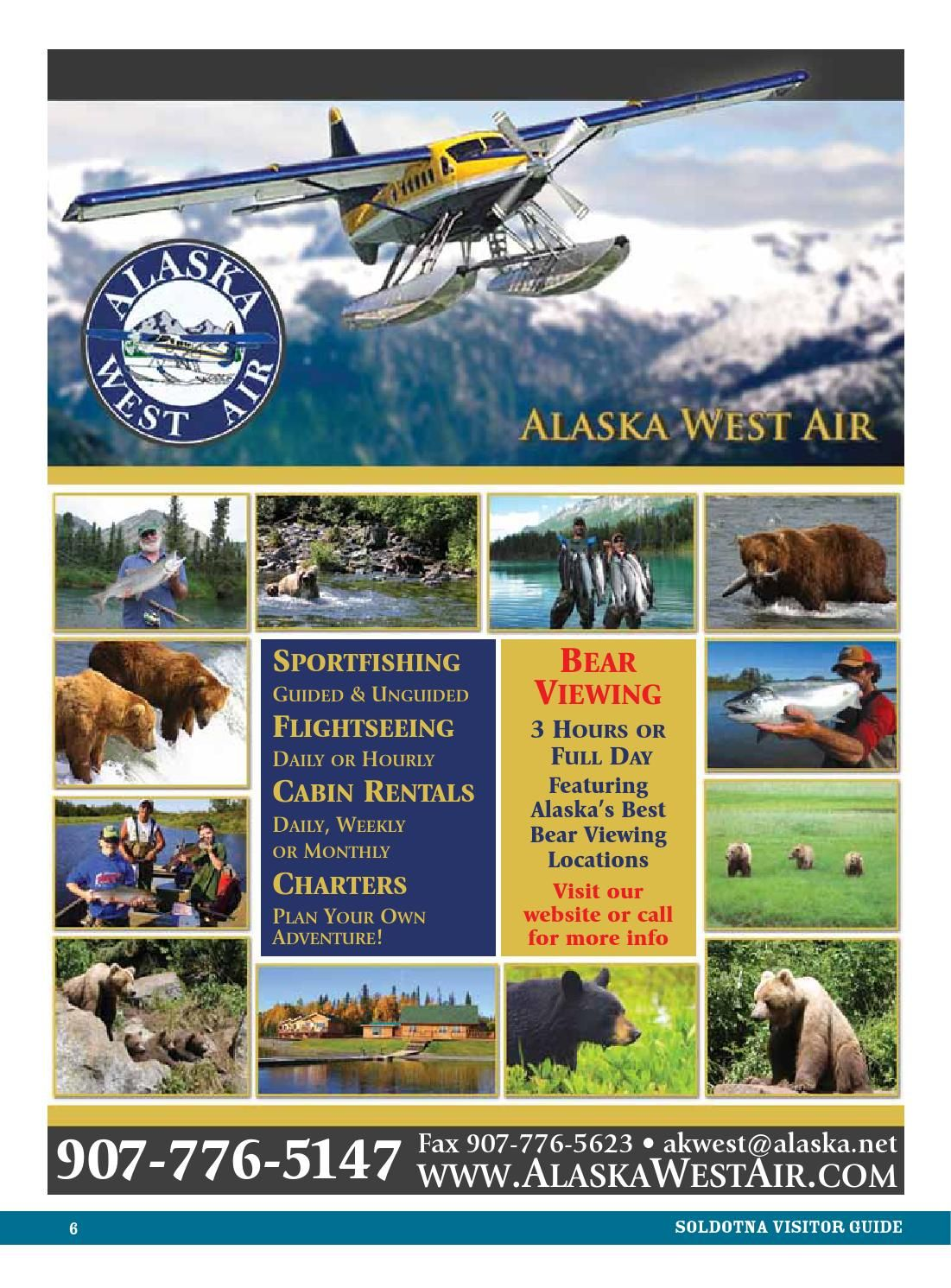 ISSUU Soldotna Alaska Visitor Guide by Soldotna Chamber of