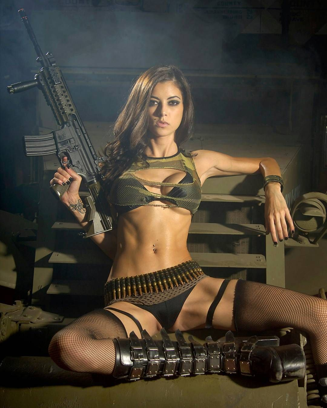 with-cum-sexy-military-babes
