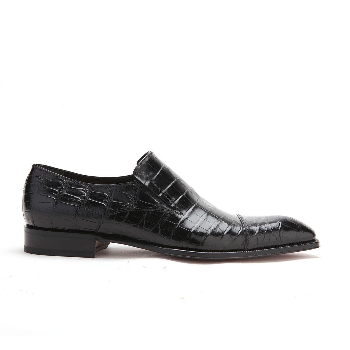 Caporicci Italian Mens Shoes Black