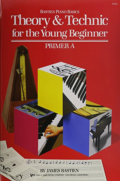 Wp232 Theory And Technic For The Young Beginner Primer A Bastien By James Bastien Kjos Music Company Theories Primer Learn Piano