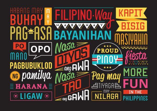 Filipino Way By Syril Bobadilla Via Behance Filipino Graphic