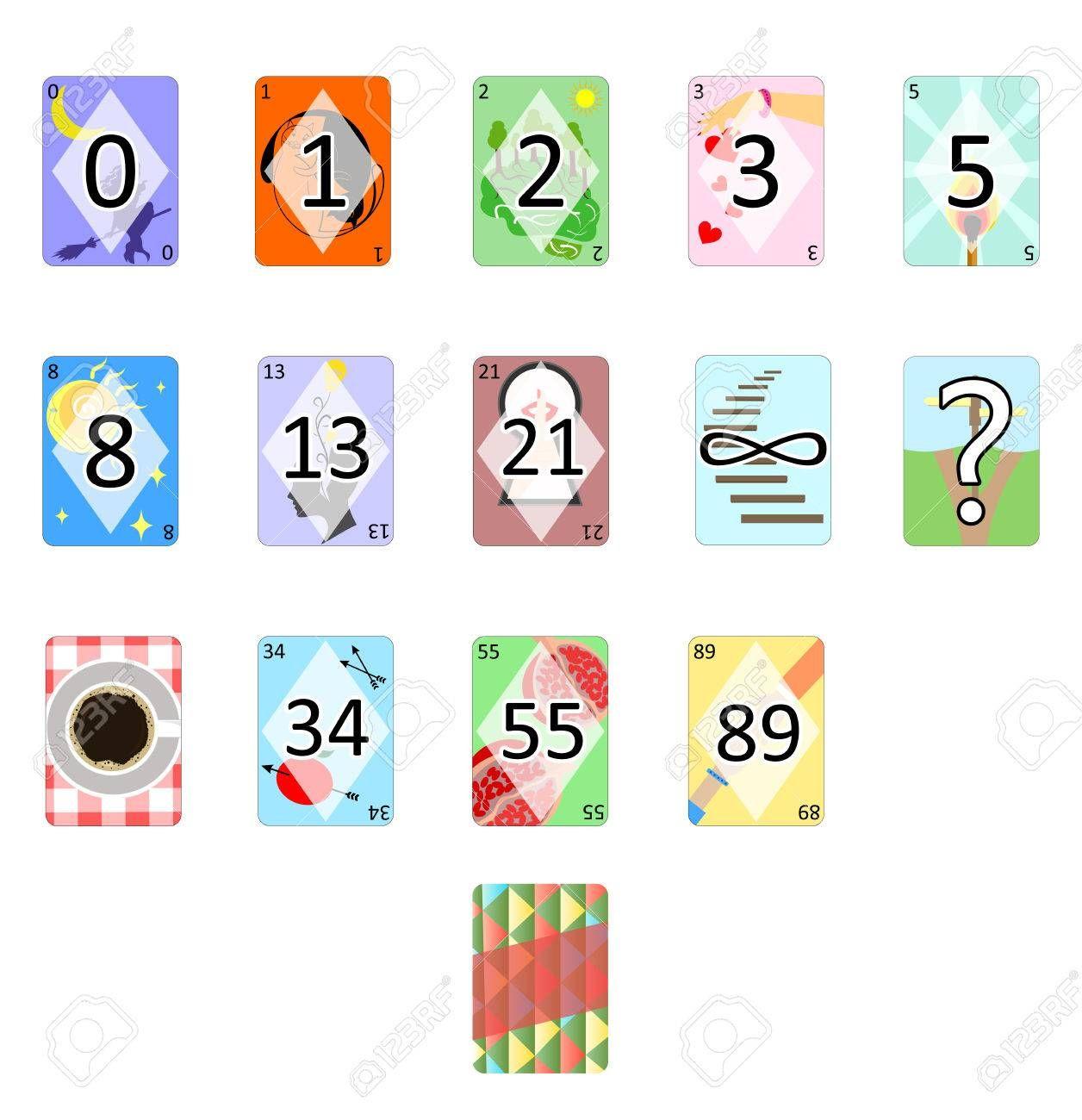 Illustration Of The Agile Poker Planning Estimation Cards Inside Planning Poker Cards Template Cumed Org Planning Poker Card Template Poker Cards