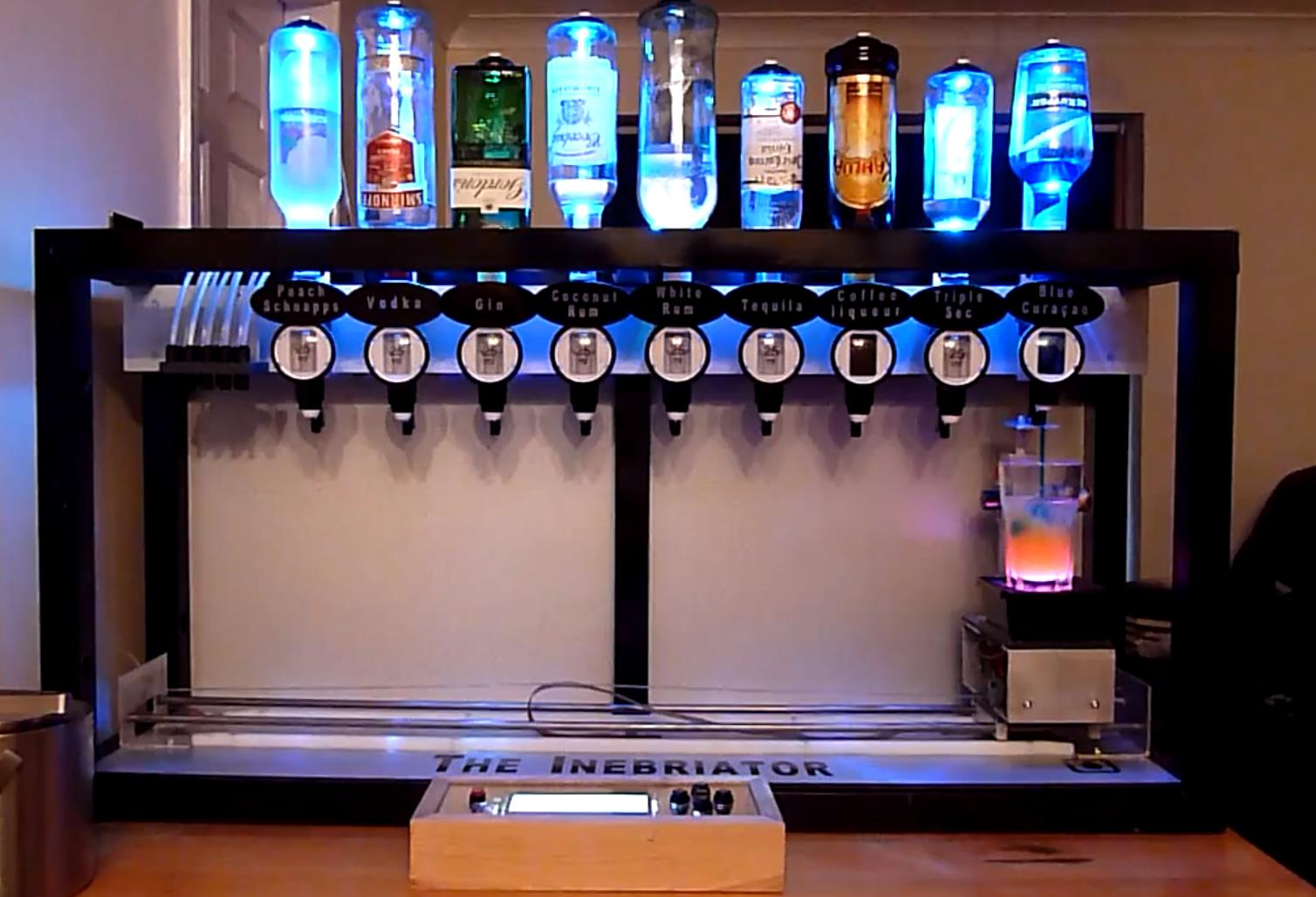 Robot dispense bar