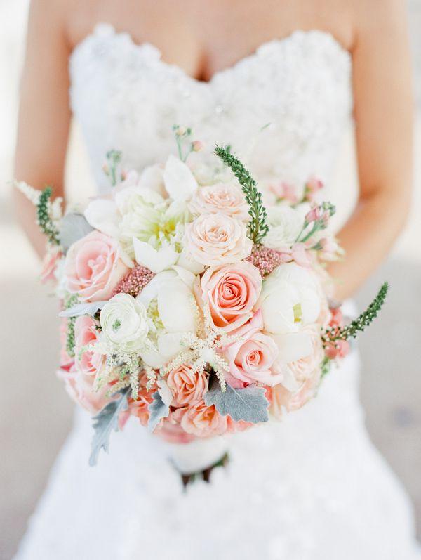 spring bridal bouquet from Windows on Washington Missouri wedding