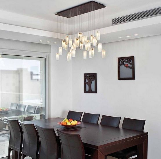 Dining Room Lighting Ideas And The Arrangement Tips Contemporary Dining Room Lighting Modern Dining Room Dining Room Contemporary