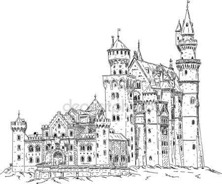 Herunterladen Schloss Neuschwanstein In Deutschland Stockbild 9394472 Germany Castles Neuschwanstein Castle Castle